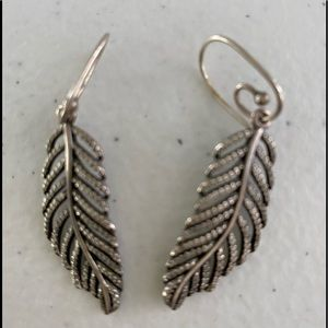 Pandora Light as a Feather Earrings